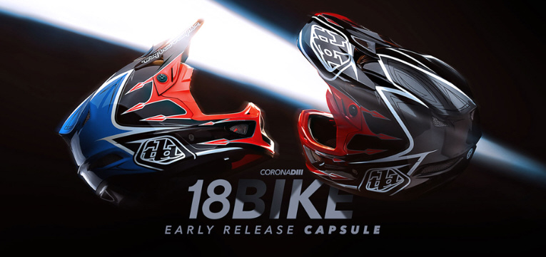 Troy Lee Designs D3 DH Helme