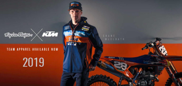 Troy Lee Desings KTM Team Bekleidung