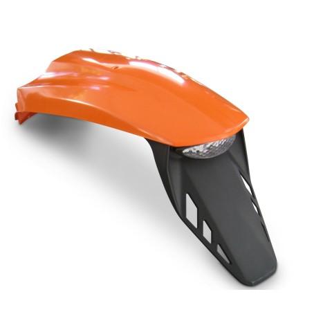 Kotfügel Heck in orange, KTM SM Heck, Supermoto LC4 Heck, LC4 Supermoto Kotflügel