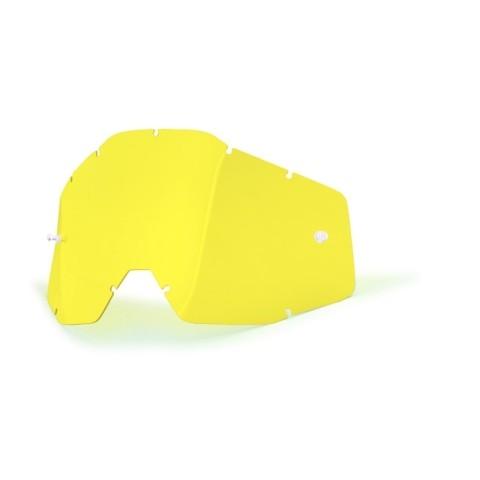 100% Ersatzglas gelb getönt