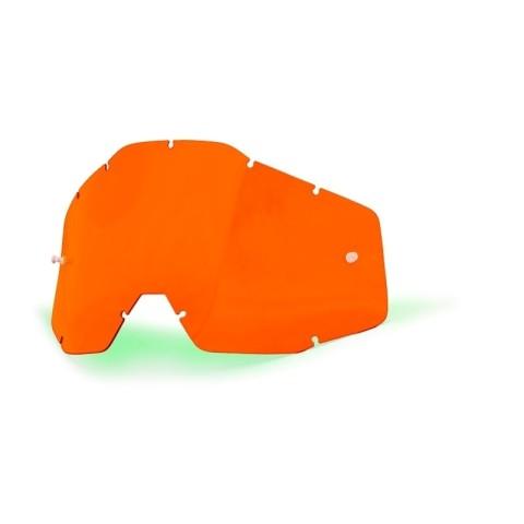 100% Ersatzglas orange getönt
