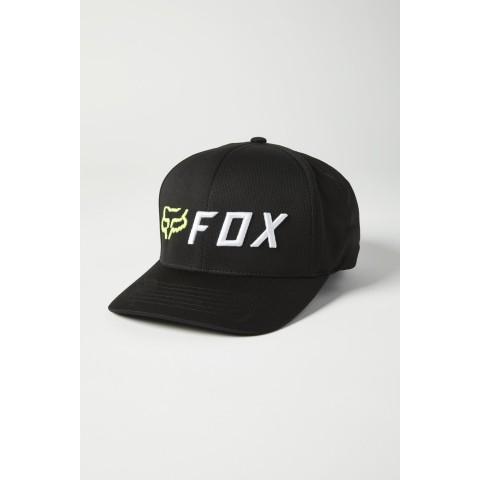 Fox APEX Flexfit Cap schwarz gelb