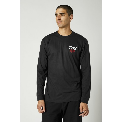 Fox TRADITIONAL T-Shirt LongSleeve schwarz
