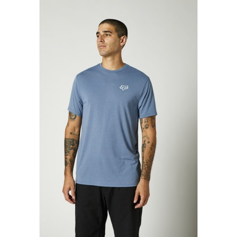 Fox Burnt Tech T-Shirt SS blau