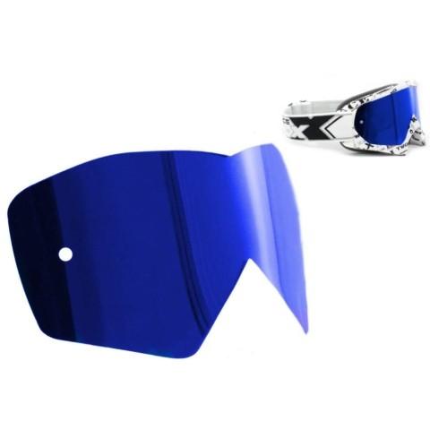 TWO-X Race Spiegelglas blau