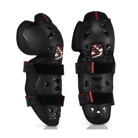 Knieschützer von Acerbis schwarz Kneeguards, MX Knee Guards, Enduro Knieschutz