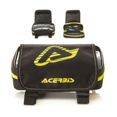 Acerbis Kotflügel Werkzeugtasche schwarz gelb