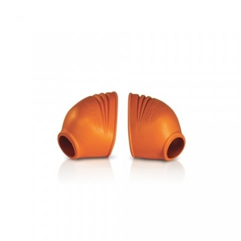 Acerbis Gummi Fussrastenschutz Foot Peg orange