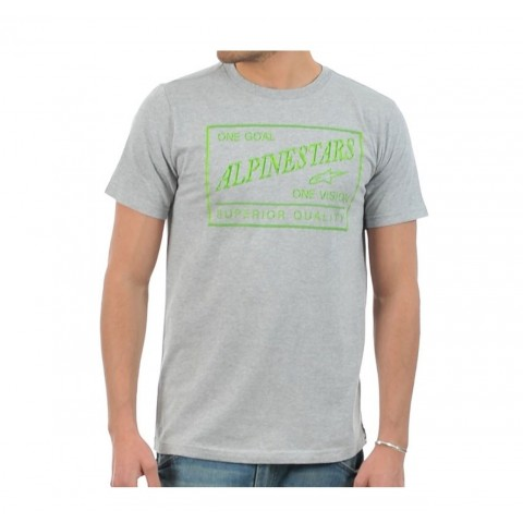 Alpinestars T-Shirt Athletic Shirt Tee Freizeitshirt grau