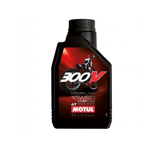 motul 300v fl offroad 15w60 motoren l 1 liter enduro. Black Bedroom Furniture Sets. Home Design Ideas