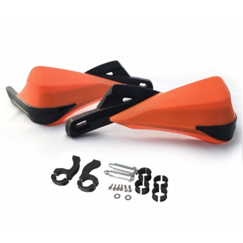 MX Enduro Handprotektoren Rocks orange