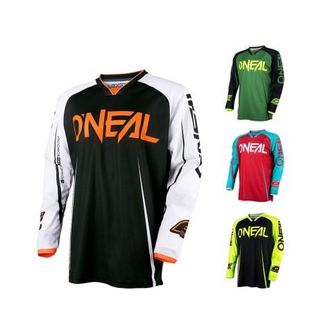 Jersey von Oneal  Motocross Shirt, MX Jersey, Oneal Blocker Shirt