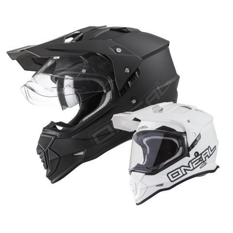 Oneal Sierra II Helm matt in Schwarz, Weiß