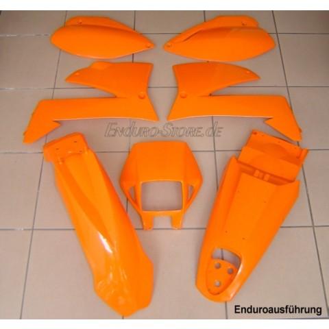 Plastiksatz KTM LC4 99 Enduro orange