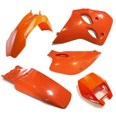 Plastiksatz KTM LC4 ab 94 orange