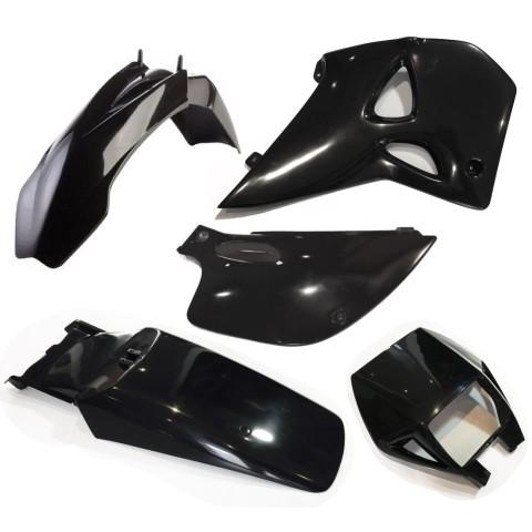 Plastiksatz KTM LC4 Supercompetition schwarz