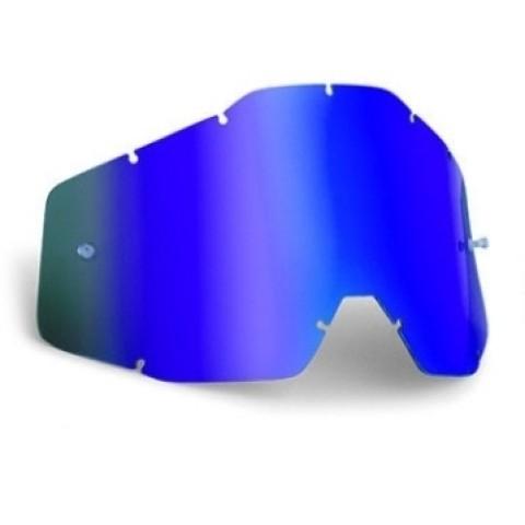 Spiegelglas für 100% blau