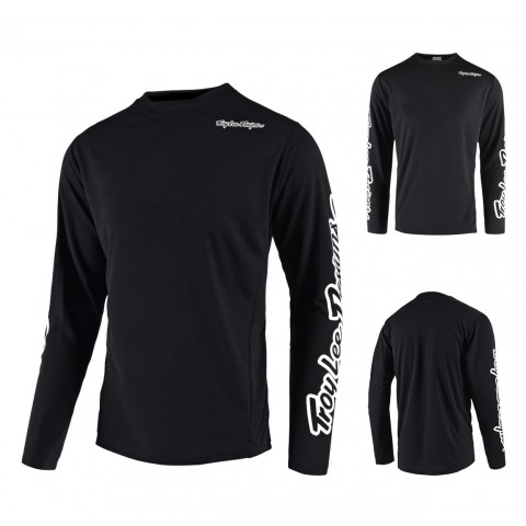 Troy Lee Designs Sprint Downhill Jersey schwarz