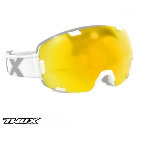 TWO-X Air Ersatzglas gelb
