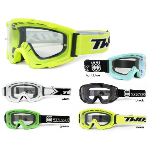 TWO-X BOMB Crossbrille MX Brille  Motocross Enduro