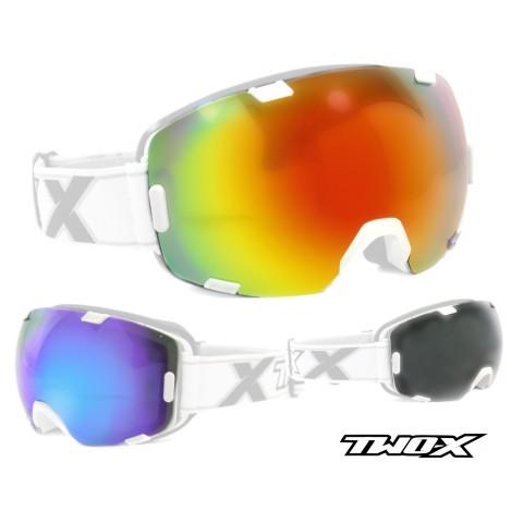 Brillenglas von TWO-X  MX Brillenglas, Ersatzglas Motocross Brille