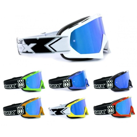 TWO-X Race Crossbrille ICE verspiegelt Solid