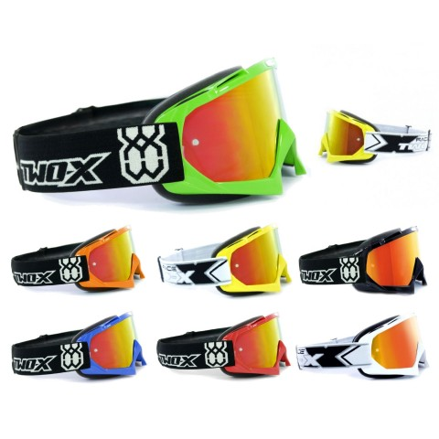 TWO-X Race Crossbrille iridium verspiegelt Solid