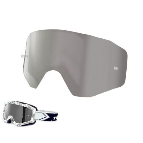 Brillenglas von TWO-X silber MX Brillenglas, Ersatzglas Motocross Brille