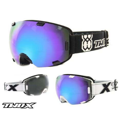 TWO-X AIR Skibrille verspiegelt blau
