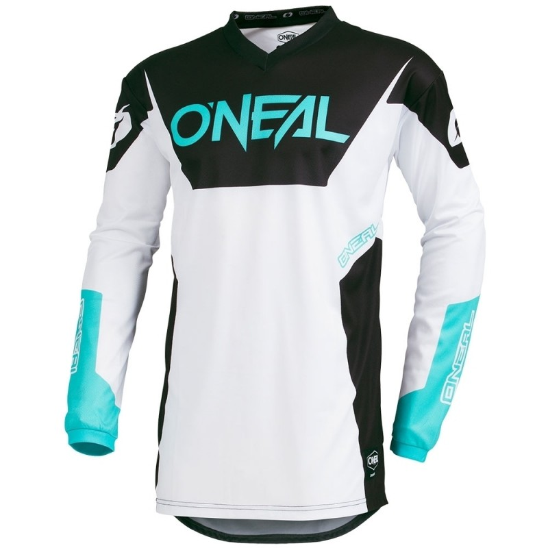 2019 O/'Neal Element Shred schwarz Jersey Trikot mx motocross mtb DH Enduro BMX