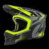 Oneal Blade IPX Oxyd Ersatz Helmschirm grau neon gelb
