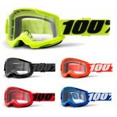 100% Strata 2 Crossbrille clear