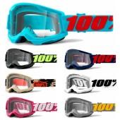 100% Strata 2 Crossbrille Graphic clear