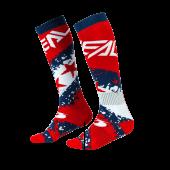 Oneal Pro MX Stars Socken blau rot