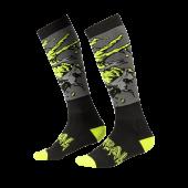 Oneal Pro MX Zombie Socken schwarz grün