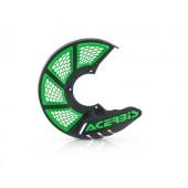 Acerbis Bremsscheibenschutz X-BRAKE VENTED schwarz grün