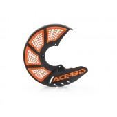 Acerbis Bremsscheibenschutz X-BRAKE VENTED schwarz orange