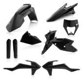 Acerbis FULL Plastiksatz Kit EXC/EXC-F 19 schwarz