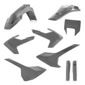 Acerbis FULL Plastiksatz Kit für Husqvarna TE/FE 19 grau