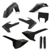 Acerbis FULL Plastiksatz Kit für Husqvarna TE/FE 19 schwarz