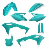 Acerbis FULL Plastiksatz Kit für Kawasaki KXF250 19 hellgrün