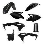 Acerbis FULL Plastiksatz Kit für Kawasaki KXF250 19 schwarz