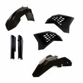 Acerbis FULL Plastiksatz Kit für KTM EXC 08-11 schwarz