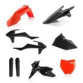 Acerbis FULL Plastiksatz Kit für KTM SX/SXF 16 schwarz orange