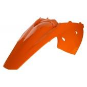 Acerbis Heckkotflügel mit Seitenteile für KTMEXC 2T4T orange