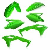Acerbis MOTORRAD Plastiksatz Kit für Kawasaki KXF 250 2017 grün