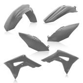 Acerbis Plastiksatz Kit für Honda CRF250R 2019 grau