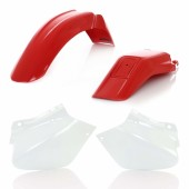 Acerbis Plastiksatz Kit für Honda rot weiss