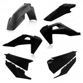 Acerbis Plastiksatz Kit für Husqvarna TC/FC 19 schwarz