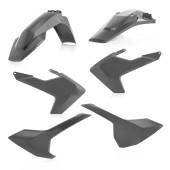 Acerbis Plastiksatz Kit für Husqvarna TE/FE 19 grau